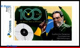 Ref. BR-V2020-50 BRAZIL 2020 - 100 YEARS 1ST GOLD IN, OLYMPICS, GUILHERME, SHOOTING, MNH, OLYMPIC 1V - Otros