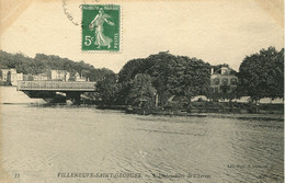 CPA - VILLENEUVE-SAINT-GEORGES - EMBOUCHURE DE L'YERRES - Villeneuve Saint Georges
