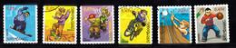 Luxemburg 2002 Mi Nr 1564 - 1569, Sport, Snowboard, Fietsen, Bike, Beachvolley,  Ed - Usados