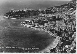 CPSM - MONACO MONTE CARLO VUE SUR LA PRINCIPAUTE ET LE ROCHER DE MONACO ED S I C A P 101 - Panoramic Views