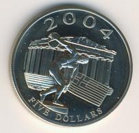LIBERIA 2003: 5 Dollars, Olympic Games 2004 - Liberia