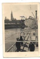 """Le M.V. """"Albertville"""" De Retour à Anvers. Compagnie Maritime Belge S.A. - Paquebots"""