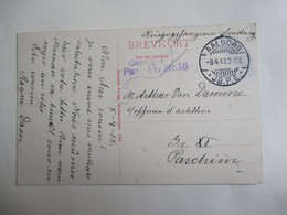 Oude Postkaart Van    KRIJGSGEVANGEN     1918 Afstempeling  AALBORG - 1914-18