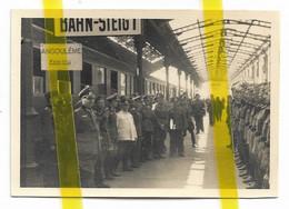 16 CHARENTE ANGOULEME (A IDENTIFIER) GARE CHEMIN DE FER OCCUPATION ALLEMANDE  PHOTO ALLEMANDE   MILITARIA 1939/1945 WK2 - Angouleme