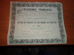 L'économie Française (haybes Sur Meuse ARDENNES)1910 - Ohne Zuordnung