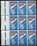 South Africa Südafrika Union Mi# 279 Postfrisch/MNH - Definitives, Flag, Part Sheet - Nuovi