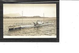 Théme-Transport-Navire De GUERRE-Une Vue Du SOUS-MARIN  * NYMPHE * En Surface -Carte-Photo - Submarinos