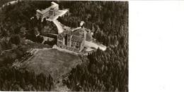 """SAINT-ODE (Lavacherie) Sanatorium """" Belgica """" Et Centre Administratif Du Complexe (château """" Le Celly). Vue D'avion. - Sainte-Ode"""