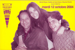 CC °_ Publicité - Club Les Bains 75 Paris - Jet Setters Contre Campeurs - 2004 - Advertising