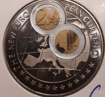 UGANDA: 1000 SHILLINGS 1998 EURO CURRENCY  KM 273 Nederlandse 2€ PROOF - Uganda