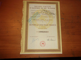 SOCONY VACUUM D'ALGERIE ET DE TUNISIE (mobil Oil Nord Africaine) - Unclassified