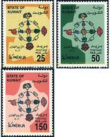Ref. 82586 * MNH * - KUWAIT. 2001. YEAR OF DIALOGUE AMONG CIVILIZATIONS . AÑO INTERNACIONAL DEL DIALOGO ENTRE CIVILIZAC - Kuwait