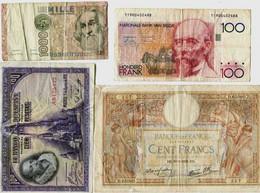 EUROPE =  LOT De 6 Billets  PORT FRANCE GRATUIT - Unclassified
