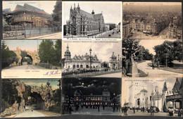Bruxelles - Lot 48 Cartes (un Peu De Tout Principalement Expo 1910 Animée Colorisée Editeurs...) - Unclassified
