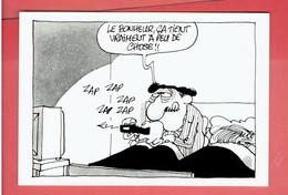 LES BIDOCHON TOME 12 TELESPECTATEURS DE BINET FLUIDE GLACIAL BANDE DESSINEE - Cartoline Postali