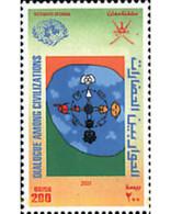 Ref. 89991 * MNH * - OMAN. 2001. YEAR OF DIALOGUE AMONG CIVILIZATIONS . AÑO INTERNACIONAL DEL DIALOGO ENTRE CIVILIZACIO - Oman