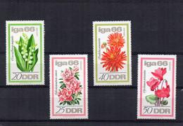 1966  D.D.R.  Mi  N° 1189/1192**  MNH -  NEUF -  POSTFRISCH - Unused Stamps