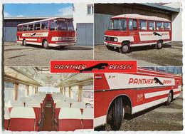Werbekarte Panther Reisen,Graz,mit Mercedes,Setra, Ungelaufen - Buses & Coaches