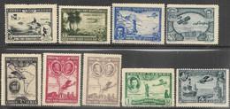 Spain   1930   Sc#C50-7 & #C55a  Airmails Set  MH     2016 Scott Value $96.75 - Ungebraucht