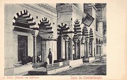 Turkey - ISTANBUL - Inside Sultan Ahmed Mosque - Publ. Unknown 13 - Turchia