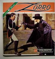 Zorro - Pochette 3 Disques 3D View-Master - Photos Couleurs Stéréoscopiques 1958  TBE - Stereoscopi