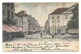 Oostende  *   La Rue D'Ouest Et Le Théatre  (VG) - Oostende