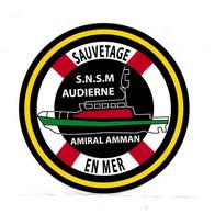 (Divers). SNSM Autocollant. Audierne Amiral Amman - Unclassified
