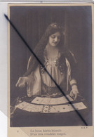 Femme Cartomancienne ; Le Brun Hérite Bientôt D'un Très Rondelet Magot .(carte Précurseur N° 6) - Frauen