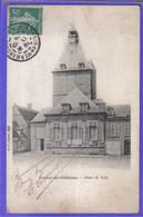 Carte Postale 02. Coucy-le-Chateau  Hotel De Ville Très Beau Plan - Autres Communes