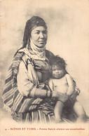 Algérie - Femme Kabyle Allaitant Son Moutchachou - Ed. Inconnu 4 - Women