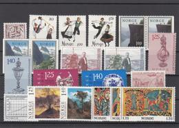 Norway 1976 - Full Year MNH ** - Volledig Jaar