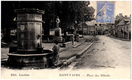23 SAINT-VAURY - Place Des Tilleuls - Sonstige Gemeinden