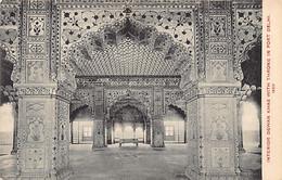 India - DELHI - Interior Dewan Khas With Throne In Fort - India