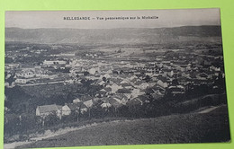 01 / AIN - Bellegarde - Vue Panoramique Sur La Michaille - CPA Carte Postale Ancienne - Vers 1920 - Bellegarde-sur-Valserine