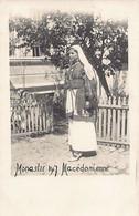 Macedonia - MONASTIR Bitola - Macedonian Woman - REAL PHOTO Year 1917 - Macedonia