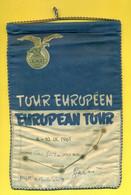 RAID AEREI-AUTOGRAFI-PILOTI-SHEILA SCOTT-GAGLIARDETTO RAID EUROPEAN TOUR-LUGANO-VENEZIA-LESCE BLED-GRAZ-WIEN-CM 15 X 22 - Patches