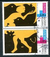 BULGARIA 2003 Europa: Poster Art Used  Michel 4503-04 - Gebraucht