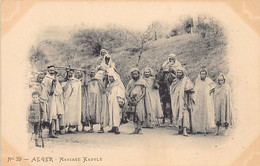 ALGER - Mariage Kabyle - Ed. VOLLENWEIDER 39 - Algiers