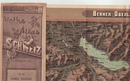 Berner Oberland No 16  - Volks-Atlas - La Suisse Vue à Vol D'oiseau - Bern - Interlaken  Eiger Grindelwald Lauterbrunnen - Unclassified