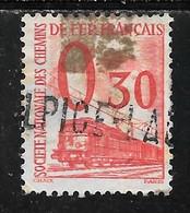 FRANCE COLIS POSTAUX N°34 OB TB SANS DEFAUTS - Afgestempeld