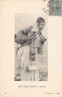 Kabylie - Scènes & Types - Femme Kabyle Revenant De La Fontaine - Ed. J. Geiser 761 - Women