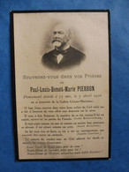 GENEALOGIE FAIRE PART DECES  LA GALERE ALPES MARITIMES PIERRON  THEOULE SUR MER 1916 - Avvisi Di Necrologio