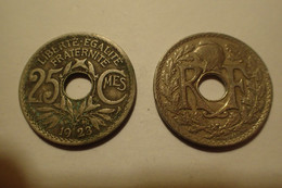 1923 - France - 25 CENTIMES, Lindauer, KM 867a, Gad 380 - F. 25 Centesimi