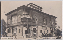Cartolina Foto Italia   Esposizione Milano 1906  Il  Padiglione Bulgaria   Viagiatta - Places