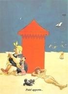 Albert DUBOUT - Editions Jean Dubout N'D 71 - Femme Forte - Pin-Up - Cabine De Plage - Dubout