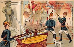 BRUXELLES - Manneken-Pis - Pompiers - Ed. Marcovici - Zonder Classificatie