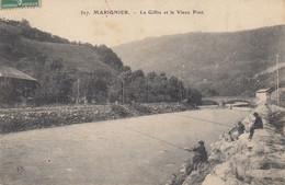 74 - Marignier - Le Giffre Animé - Belle Partie De Pêche - Le Vieux Pont - Other Municipalities