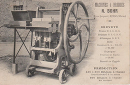 51 - REIMS - MACHINES A BRIQUES - N.BOHR - Reims