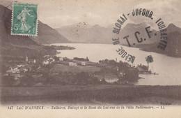 74 - Lacd'Annecy - Talloires - Duingt - Le Bout Du Lac Vus De La Villa Noblemaire - Talloires