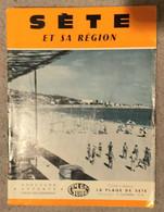 Depliant Touristique Et Carte SÉTE Et Sa Region - Tourism Brochures